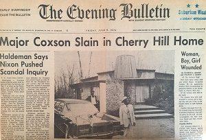 Coxson Slain Bulletin